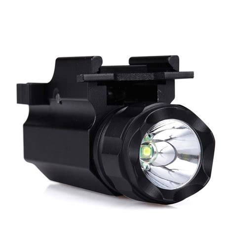 Led Flash Light Strobo canwelum strobe cree led pistol light tactical weapon mounted gun flashlight ebay