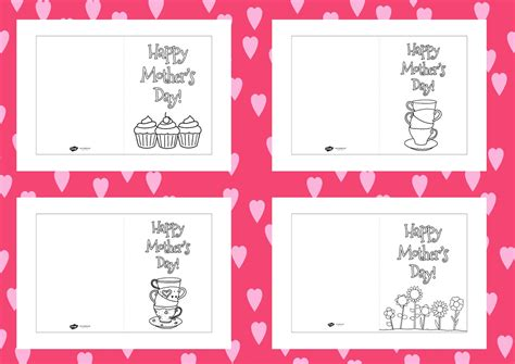 Target Card Template Ks2 by Twinkl Resources Gt Gt S Day Colouring Cards Templates