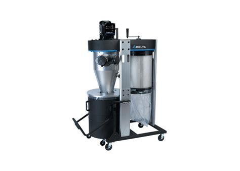 delta dust collectors for woodworking delta 1 1 2 hp portable cyclone dust collector preview