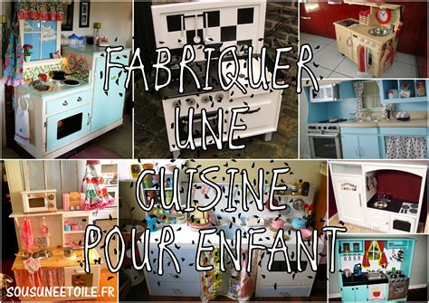 cuisiner avec un enfant fabriquer une cuisine pour enfant sous une etoile