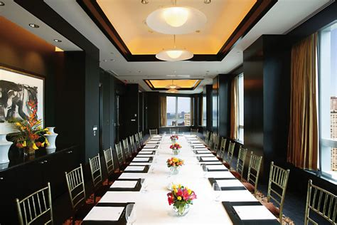 Lotus Room by Business Hotel New York For Meetings Mandarin New York