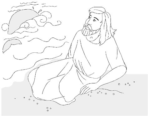 coloring pages jonah and the big fish free jonah and the big fish coloring pages