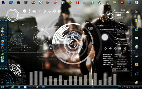 jarvis full version software free download iron man desk rainmeter skin