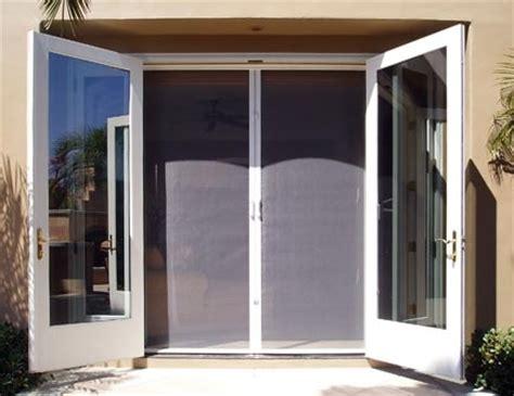 retractable screen door for doors craftsman home