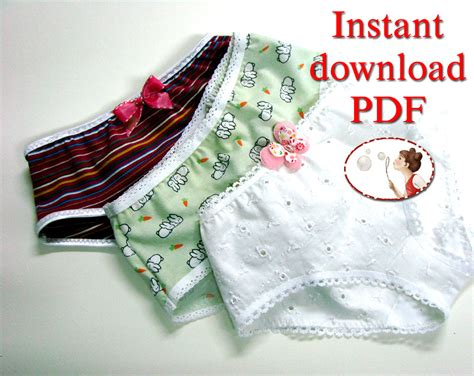free pattern underwear sewing pattern for girls panties underwear pattern toddler