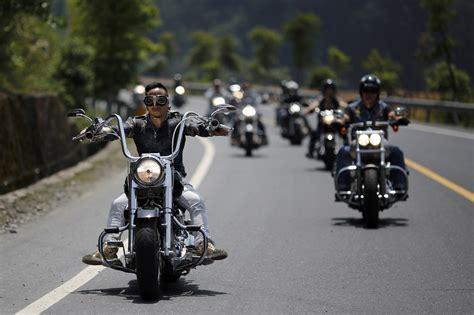 harley riding harley davidson national rally in china the atlantic