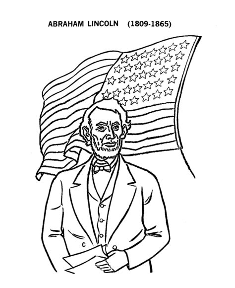 abraham lincoln coloring page bluebonkers us presidents coloring pages president