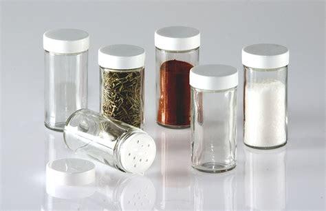 Seasoning Bottles Lot Rack Glass Jars Spice Kitchen Container Bottle Six Set