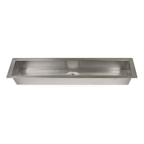 long bathroom sink with two faucets long lasting narrow stainless steel trough bathroom sink