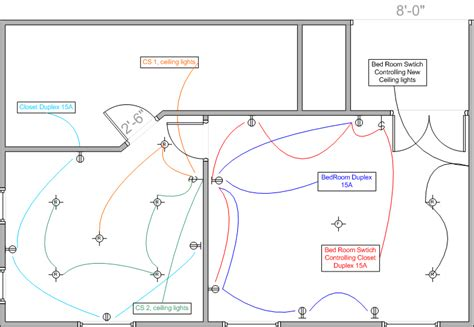 bedroom wiring code 3 pole light switch wiring diagram 3 free engine image