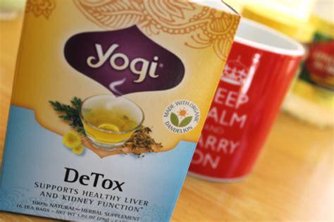 Detox Green Tea Yogi by What Tea Are We Yogi Detox Tea Review