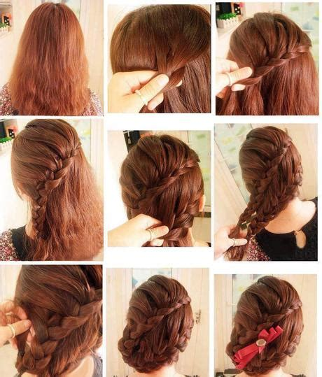 tutorial styling rambut simple kepang rambut modern new style for 2016 2017