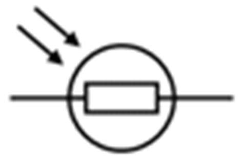 simbol diode ldr gcse bitesize circuit symbols