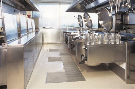 Commercial Kitchen Flooring Commercial Concrete Floor Coating Polishing Ecoat