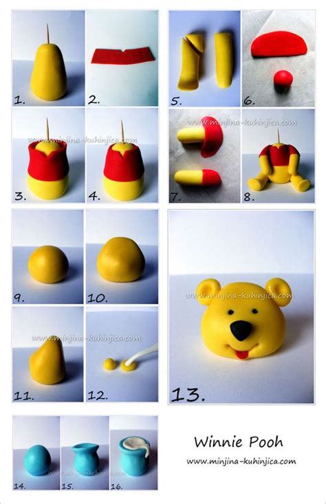 winnie the pooh cake template winnie pooh tutorial sketches patterns templates