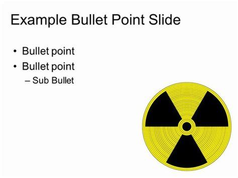 coloured radiation warning sign graphics