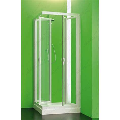box doccia 4 lati piegh2 box doccia due lati pieghevole cristallo stato c