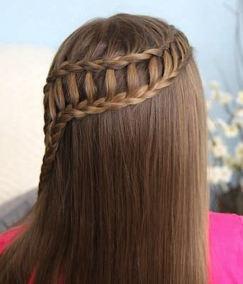 trenza cascada paso a paso trenza cascada ladder braid and hair accessories on pinterest