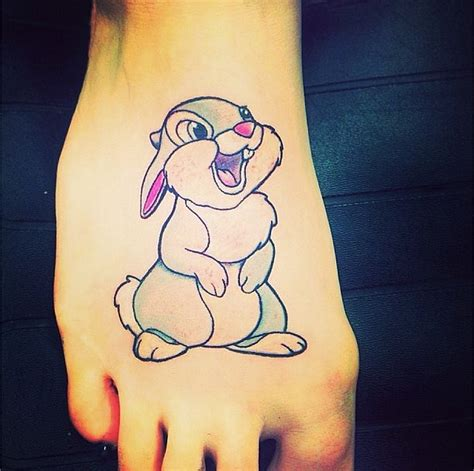 thumper tattoo the spot for a thumper 50 magical disney