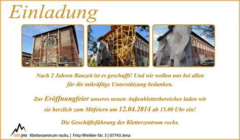 Muster Einladung Firmenevent Hallen Kvfl 183 Klettern In Th 252 Ringen