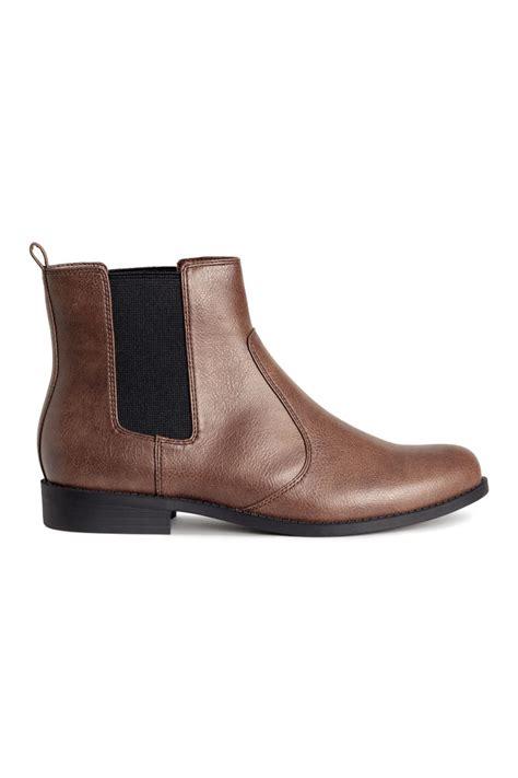 chelsea boots h m chelsea boots dark brown sale h m us