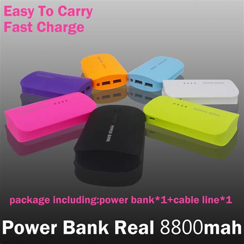 Power Bank Lamigo 8800mah Real Original Slim 2015 power bank 8800mah usb external mobile backup powerbank battery for all phone external