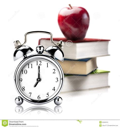 clocks a novel books vintage clock alarm stack book books apple stock photo