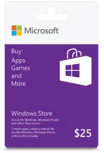 Windows Store Gift Card Code Decorating Windows Store Gift Cards Are Here With A Great Touch Pc Promotion Windows Experience