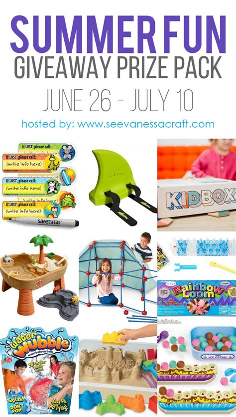 Fun Summer Giveaways - summer fun giveaway prize pack for kids