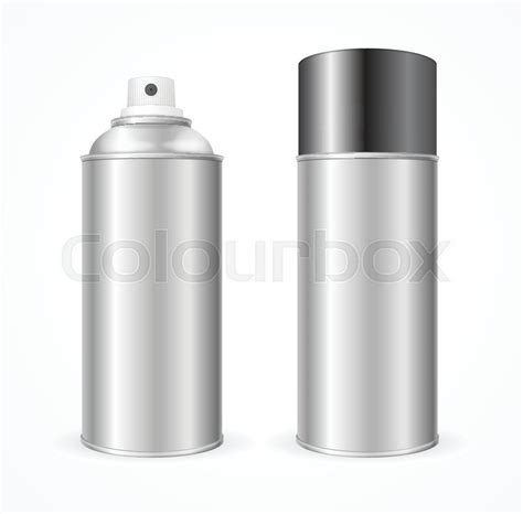 spray paint mockup aluminium spray can template blank mock up for your