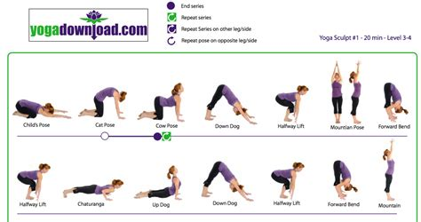 printable simple yoga poses 1000 images about get exercising on pinterest bikram