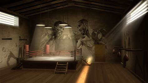 Wall Mural Disney boxing gym wallpaper wallpapersafari