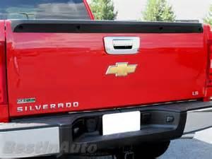 chevy silverado 2007 tailgate handle chrome cover ebay
