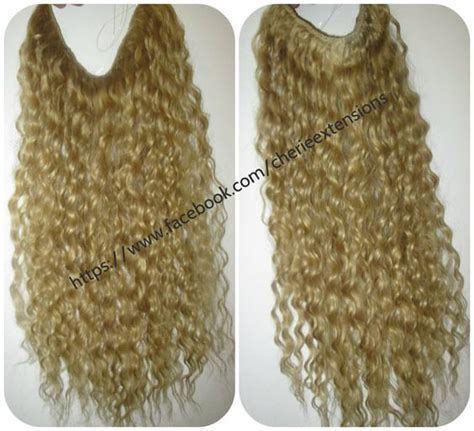 halo curly hair extensions halo dips and wire on