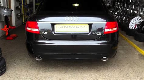 Audi A6 Auspuff by Audi A6 3 0tdi Stainless Steel Sports Exhaust