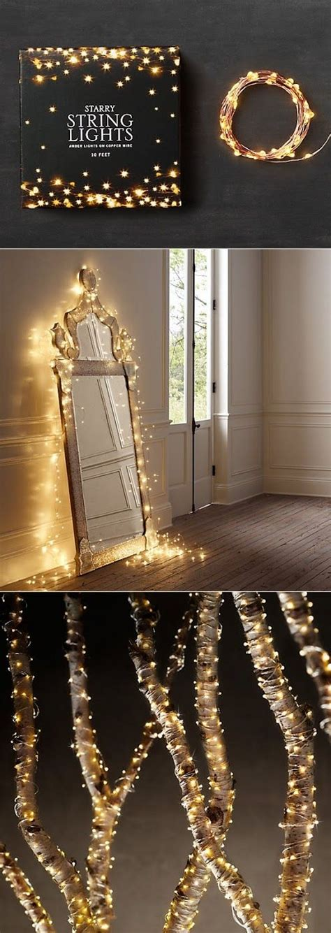 Pin By Heather Fields On Dreamy Pinterest Starry Starry String Lights Bedroom