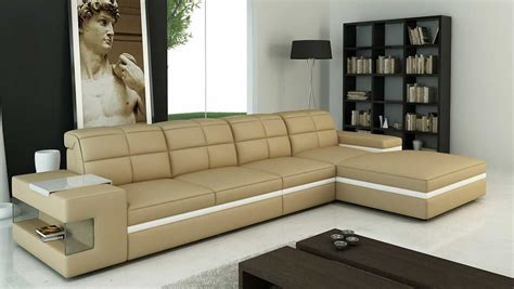Beige Sectional Sofas Beige Leather Sectional Sofa Vg132 Leather Sectionals
