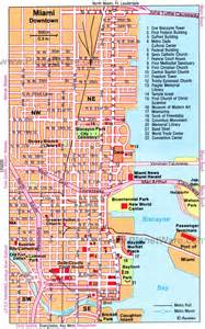 Map Of Downtown Miami by Downtown Miami Map High Quality Maps Of Downtown Miami
