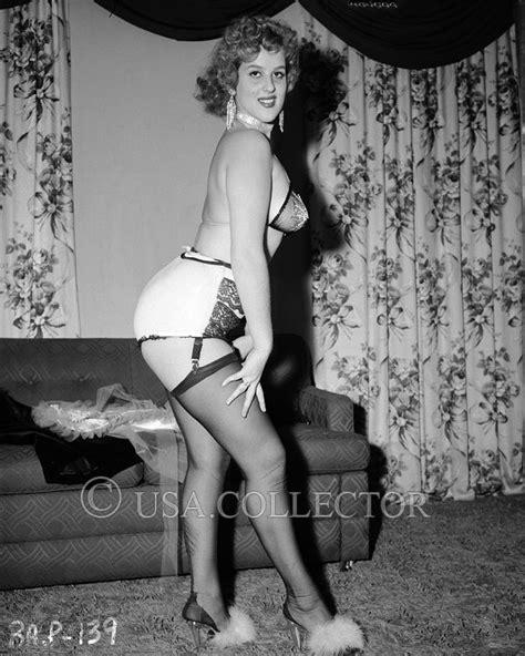 Calendã William Douglas Orig Vtg 1950s Barbara Pauline Pinup Negative Irving Klaw