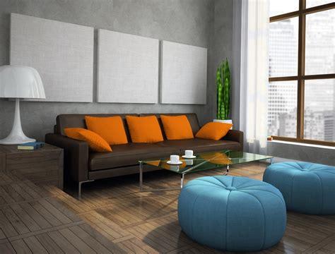 orange interior 10 bright living room in orange home interior design