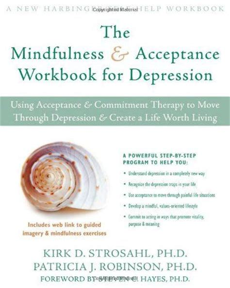 the 10 step depression relief workbook a cognitive behavioral therapy approach books 17 best images about acceptance and commitment therapy