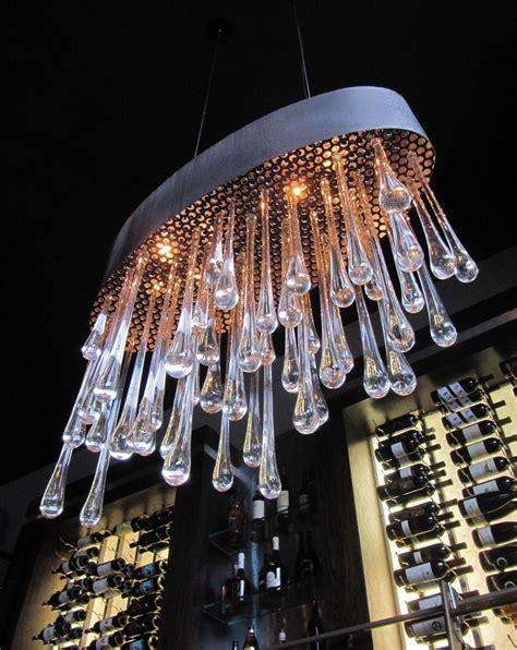 custom chandeliers custom made 111 glass chandelier by ethel a furman