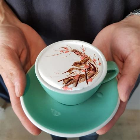 artistic coffee this barista from south korea is taking latte art to the