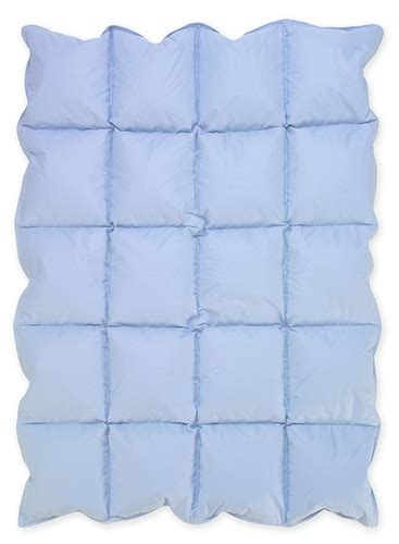 Blue Baby Crib Down Alternative Comforter Blanket Only