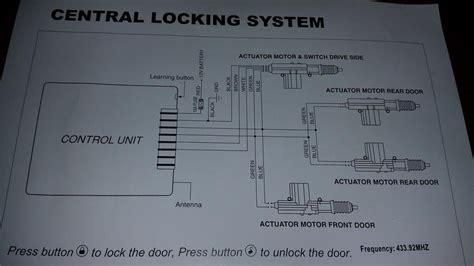 central door lock un 4001 car central door locking