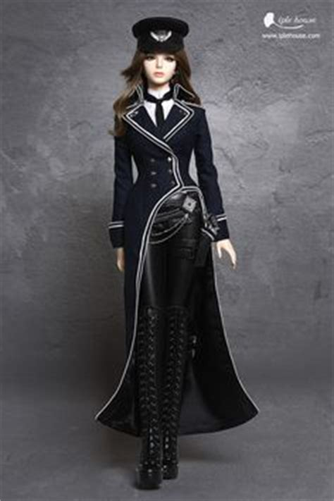 haunted navy doll as maleficent by iplehouse doll artistry