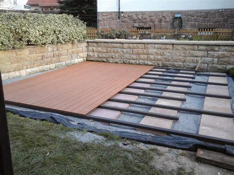 terrasse wpc bauen wpc terrasse bauen terrasse bauen anleitung wpc carprola