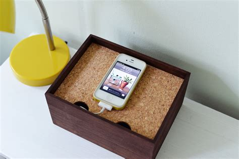homemade charging station diy charging dock
