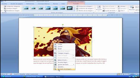 poner imagen blanco y negro en paint tutorial imprimir word 2007 b n youtube