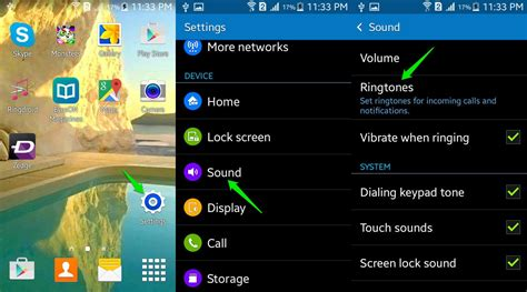 how to change ringtone on android how to set ringtones and notifications android ubergizmo